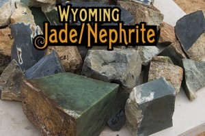Wyoming Jade / Nephrite for sale - Apple Green, Olive, Edwards Black, Sage, Jade with Crystals