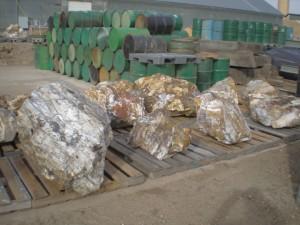 Blue Ice Ocean Agate mining