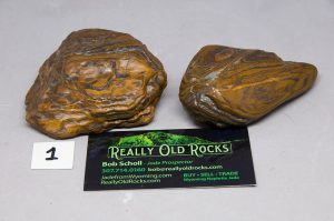 XL Palm Size genesis stones / banded iron formation / Seer Stone