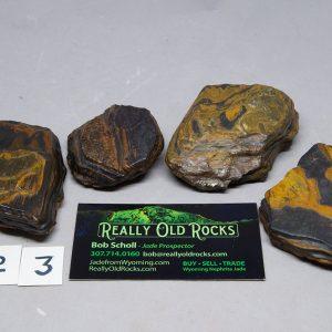 Banded Iron Formation / Genesis stones / Seer Stone / Natural Wind Slicks