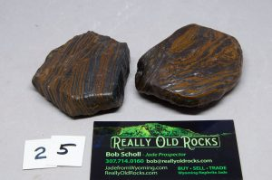 Banded Iron Formation / Genesis stones / Seer Stone / Natural Wind Slicks