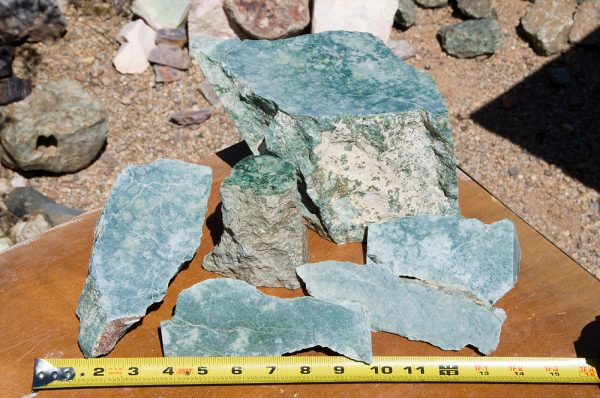 Emerald Snowflake Wyoming Jade for sale