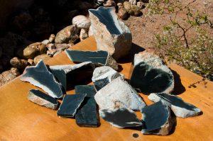 Wyoming medium olive whiteskin nephrite jade for sale
