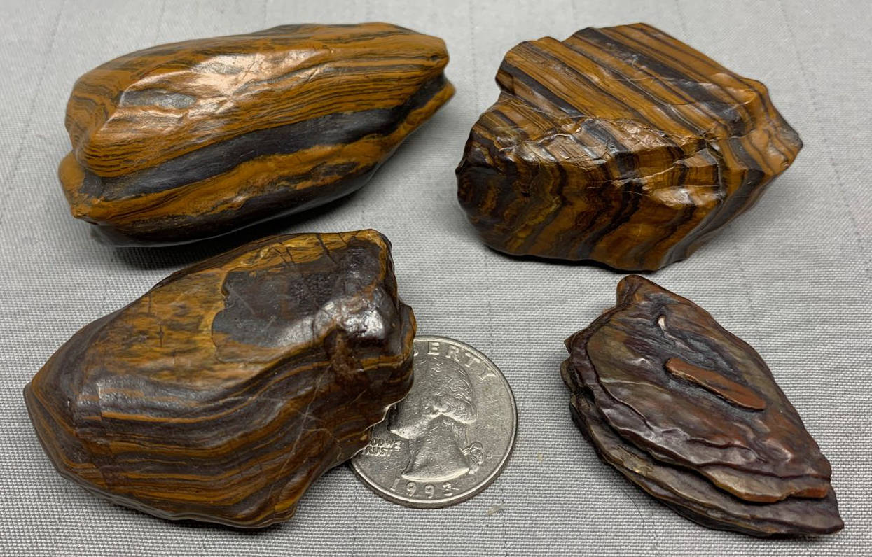 Miners select Pocket Stones - Genesis Stone/Jasper - Banded Iron Formation - Mormon Seer Stones