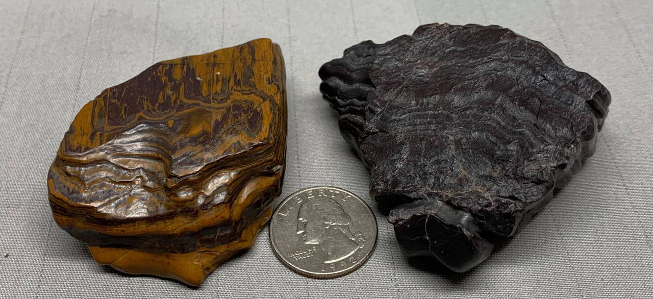 Miners Select Grade A Specimens Genesis-Banded Iron Formation-Seer Stones from Wyoming USA