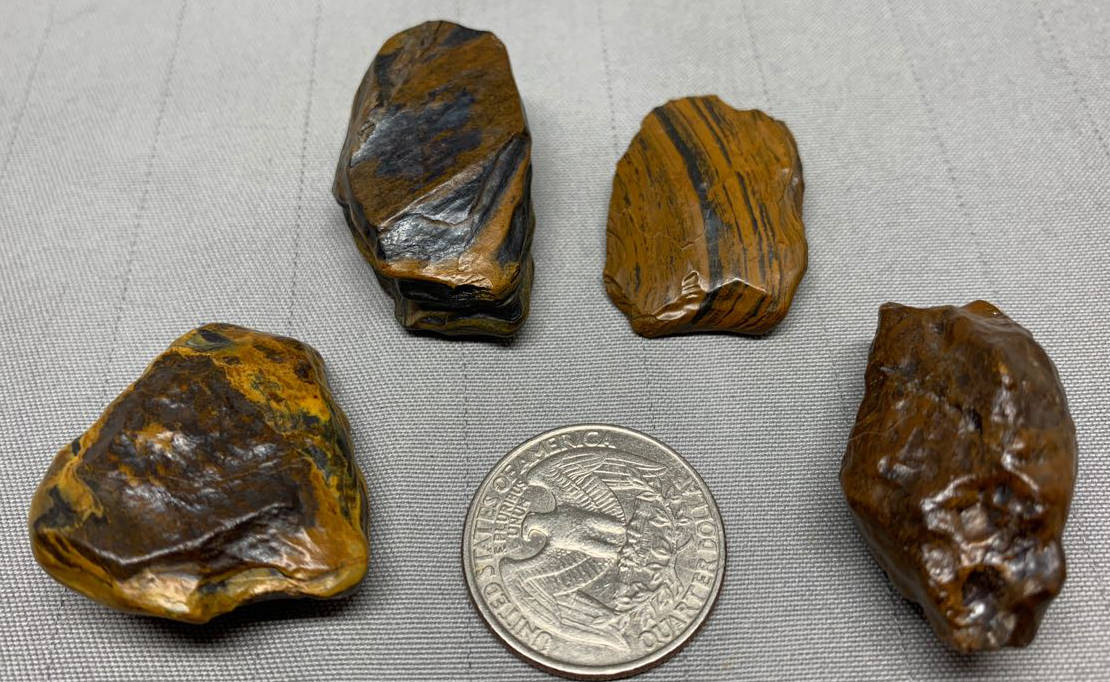 Pendant/Pocket Stones - Genesis Stone-Banded Iron Formation- Mormon Seer Stones