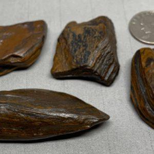 Pocket Stones - Genesis Stone-Banded Iron Formation- Mormon Seer Stones