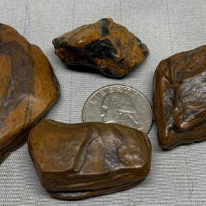 Pocket Stones - Genesis Stone-Banded Iron Formation- Mormon Seer Stones