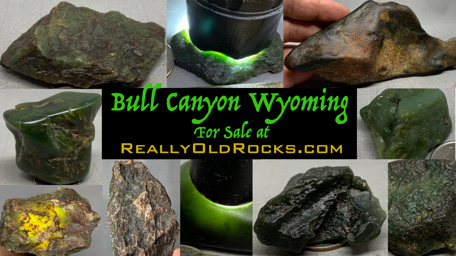 Bull Canyon Wyoming Jade for Sale