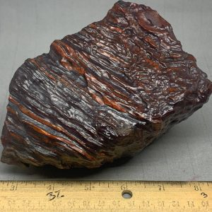 Red Banded Iron Genesis Stone windslicks from Wyoming USA