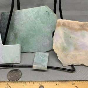 Jadeite Lot 2 - Japanese or Burmese Slabs