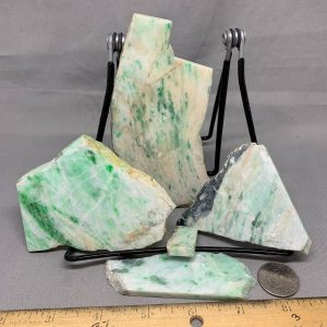 Jadeite Lot 3 - Japanese or Burmese Slabs