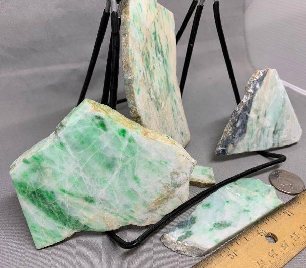 Jadeite Lot 3 - Japanese or Burmese Slabs