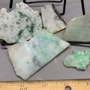 Jadeite Lot 4 - Japanese or Burmese Slabs