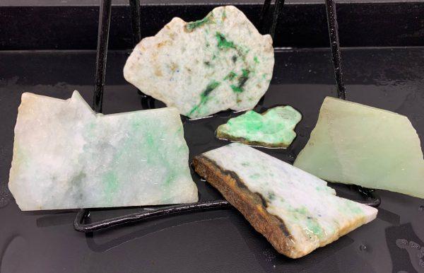 Jadeite Lot 4 - Japanese or Burmese Slabs