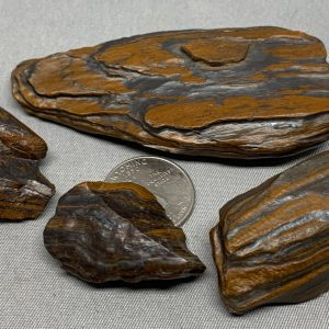 Genesis Stone Metaphysical Power pack - grounding stone - banded iron formation