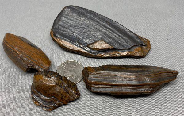 Genesis Stone Metaphysical Power pack - grounding stone - banded iron formation